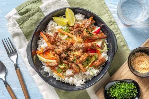 Bai sach chrouk : porc mariné au coco et à l'ail image