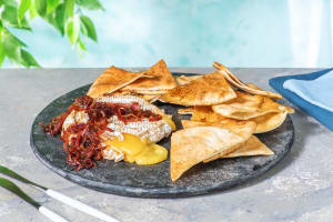 Baked Camembert with Balsamic Onion image