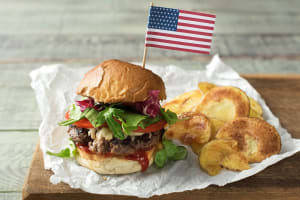 Barbecue Burger image