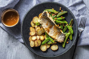 Barramundi and Brown Butter Lemon Sauce image