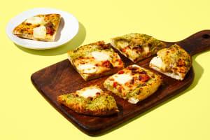 Basil Pesto & Mozzarella Pizza image