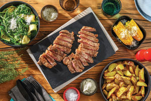 Chargrilled Sirloin & Grilled Zucchini Salad image