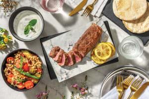 Chargrilled Lamb & Veggie Israeli Couscous image