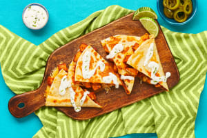 BBQ Chicken Quesadillas image