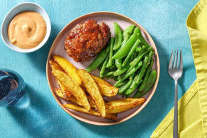 BBQ-Glazed Meatloaf image