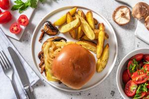 BBQ Mushroom Sandwich image