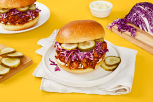 BBQ Pulled Chicken Sandwiches image