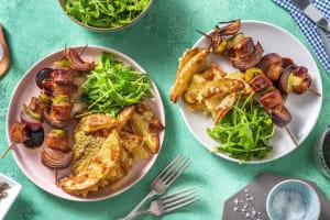 BBQ Sausage Skewers image