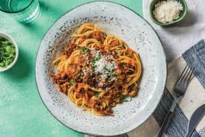 Beef & Mushroom Red Pesto Penne image