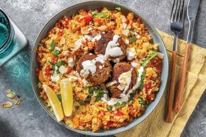 Beef Koftas & Tabbouleh Couscous image