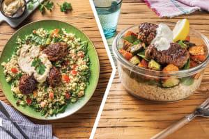 Beef Koftas & Tabbouleh Couscous for Dinner image