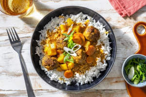 Beef Meatball Massaman-Style Curry image