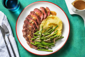 Beef Steak with Pan Gravy image