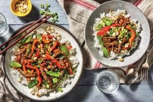 Mongolian Beef & Snow Pea Stir-Fry image