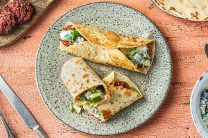 Beetroot & Feta Falafel image