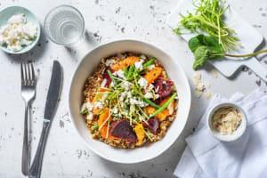Beetroot, Green Bean and Orange salad image