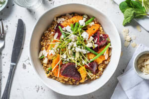 Beetroot, Green Bean and Orange salad image