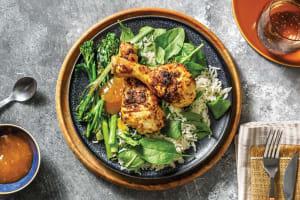 Bengali Baked Chicken Drumsticks image