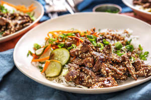 Sesame-Soy Beef Bibimbap image