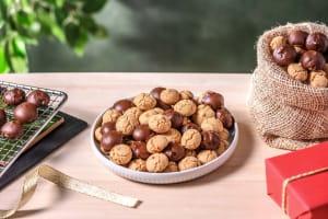 Kruidnoten : sablés saveur spéculoos enrobés de chocolat image