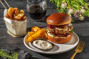 Bison and Bacon Cheeseburgers image