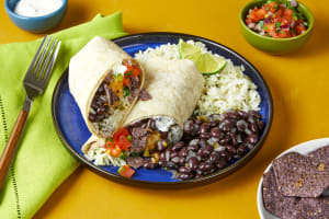 Black Bean & Blue Corn Crunch Burritos image