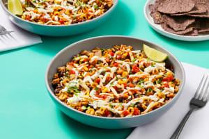 Black Bean & Charred Corn Burrito Bowls image