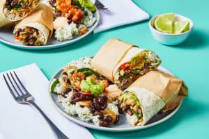 Black Bean & Poblano Burritos image
