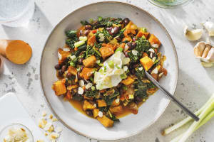 Black Bean & Sweet Potato Stew image