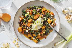 Black Bean & Sweet Potato Stew image