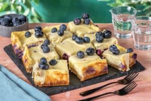 Blueberry Cheesecake Slice image
