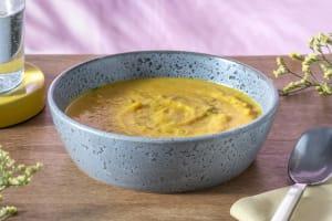 Blumenkohl-Curry-Suppe mit Bohnen image