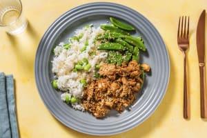 Sesame Teriyaki Pulled Chicken Bowl image