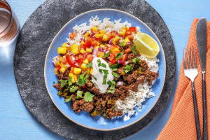 Tropical Beef Bowls image
