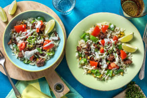 Taco-Style Beef Bowl image