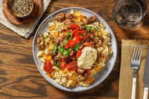 Za'atar Beef Bowls image