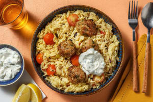 Greek Lemon-Pepper Meatballs image