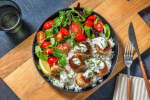 Greek Turkey Meatballs image