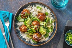 Hoisin-Glazed Pork Meatballs image