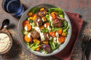 Olive Stuffed Meatballs image