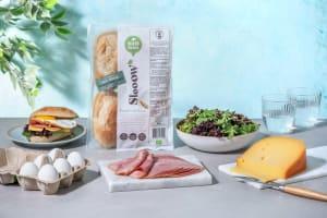 Broodje gezond met ham en kaas image