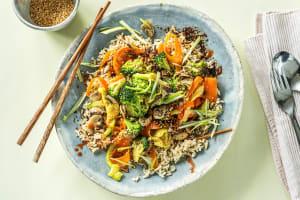 Brown Rice Bibimbap image