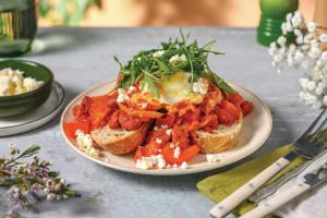 Chorizo & Crumbly Cheese Shakshuka image