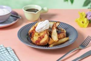 Lemon-Sugar Brioche French Toast image