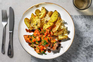 Bruschetta Balsamic Glazed Salmon image