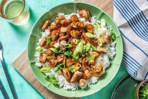 Bulgogi Pork and Mushroom Stir-Fry image
