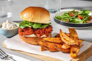 Spanish Chorizo Burger image