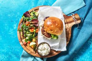 Mediterranean Lamb Burger image