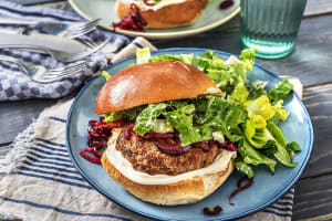 Minted Lamb and Feta Burger image