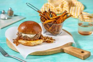 Retro Burger image